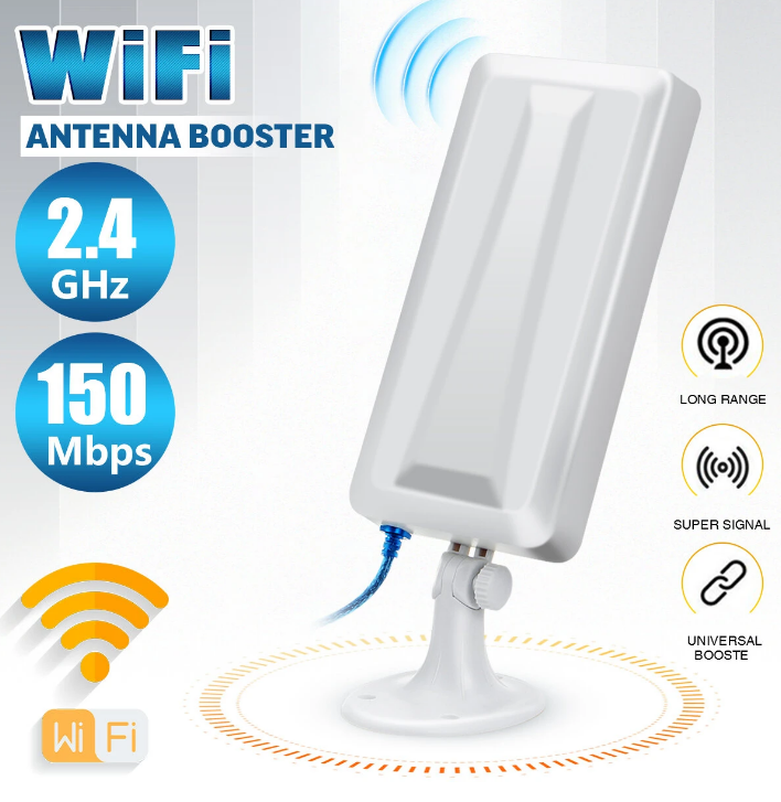 150Mbps Wireless Wifi Repeater Extender Signal Booster Outdo
