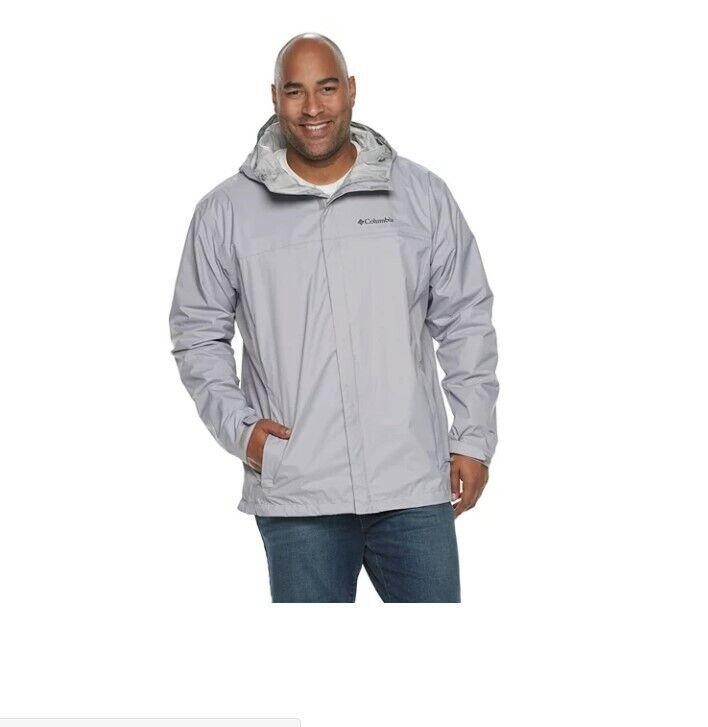 Columbia Men's Big&Tall Watertight II Packable Rain Jacket G