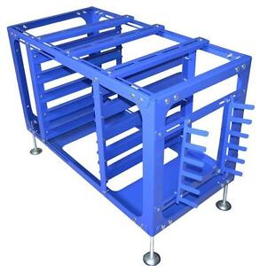 Screen Printing Printer Holding Rack Movable Work Table Tools Ink Storage Car 006328