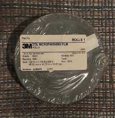 3M MICROFINISHING FILM ROLL 268L 20MIC 3MIL 12IN X 100FT ALUMINUM OXIDE WET//DRY