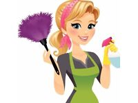 Offers home cleaning