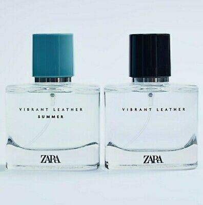 🆕 ZARA Vibrant Leather + ☀️SUMMER☀️Bottle 2.03Oz/60ml Eau De Parfum Fragrances