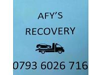 AFYS RECOVERY SERVICE 24 HOUR (car recovery)