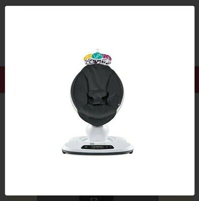 OPEN BOX 4moms MamaRoo 4 infant seat / swing Classic Black (Mobile not included)
