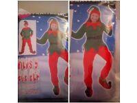 Brand New Kids Elf Fancy Dress Costume (5piece)