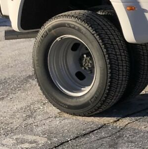 "17"" light truck tires.   245/75R17 10 ply.   Michelin LTX"