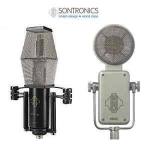 Sontronics Classic Mic-Bundle (Stereo Ribbon & Tube Condenser) Sheldon Brisbane South East Preview