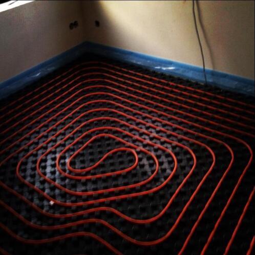 Wonderlijk ≥ Platjes Vloerverwarming Systemen - Loodgieters en Installateurs BG-55