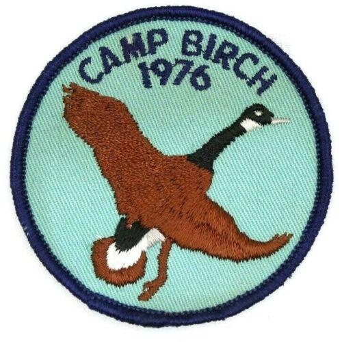 1976 Camp Birch Tecumseh Council Patch Boy Scouts BSA OH