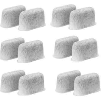 12 Charcoal Water filters Replacement For Cuisinart Coffee Part DCC-RWF Cuisinart Charcoal Coffee Filters