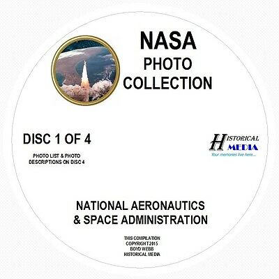 NASA PHOTO COLLECTION - 2,073 PHOTOS ON 4 CDs IN .JPG FORMAT - MOST IMAGES > 1MB for sale  Shipping to Canada