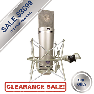 Neumann U 87 Ai Condenser Microphone (Nickel) Inc EA87 Mount Brisbane City Brisbane North West Preview