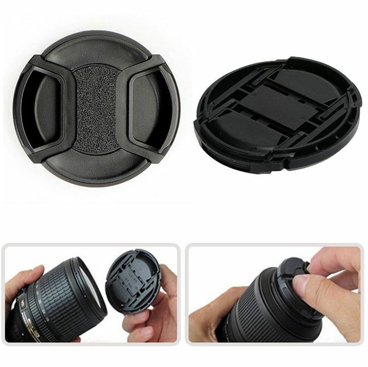40mm-82mm Snap Lens Cap Cover For Sony, Nikon, Olympus, Pentax, Panasonic, Fuji