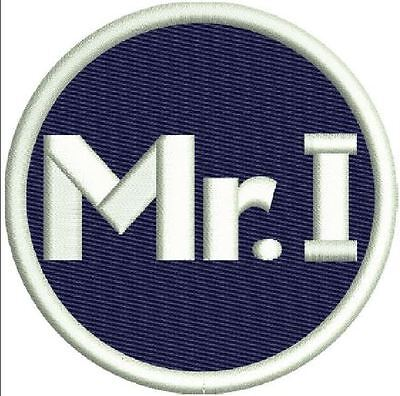 Detroit Tigers Mr  I  Patch Mike Ilitch Memorial On Field Jersey Style Logo Navy