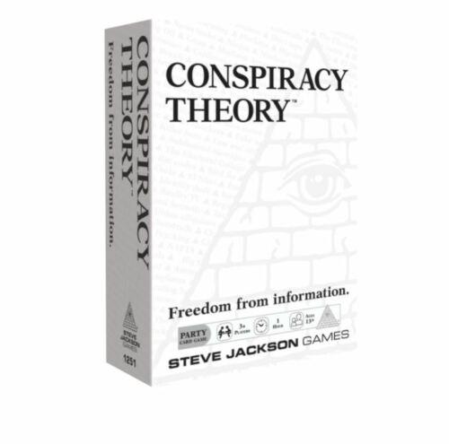 SJG Card Games Steve Jackson Games Conspiracy Theory NM fun party game