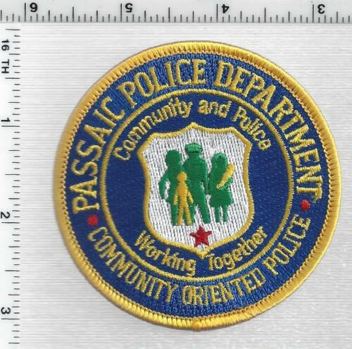 Passaic Police (New Jersey) 1st Issue Community Oriented Police Shoulder Patch