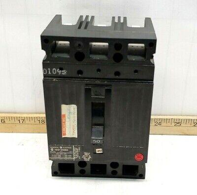 GE GENERAL ELECTRIC 480VAC 15A 3-POLE CIRCUIT BREAKER TEF134015 *LOT OF 2*