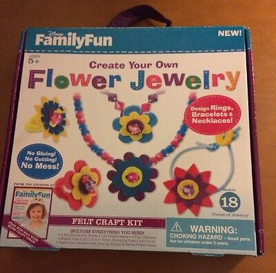 Disney Family Fun Create Your Own Flower Jewelry