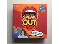 Speak Out Board Game NEW SEALED