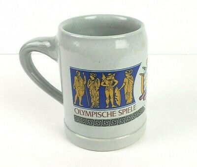Vintage Lowenbrau 1972 In Munchen Gray .5 Liter Stoneware German Beer Mug