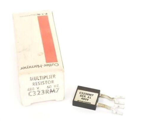 NIB EATON CUTLER-HAMMER C323RM7 MULTIPLIER RESISTOR 480V. 60HZ