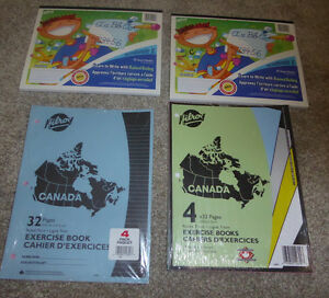 4 like NEW school paper organizers, NEW exersice books Kitchener / Waterloo Kitchener Area image 3
