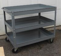 Chariot Buggy Dolly 3 tablettes shelfs