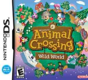 Looking for animal crossing wild world