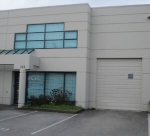 3500sqf warehouse and office for lease