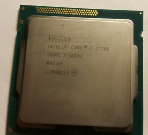 Intel i7 3770K LGA 1155 (OC can compete with i7 4790K, 6700K)