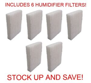 Humidifier Filter for Vornado Evap1 Evap2 Evap3 (6-Pack)