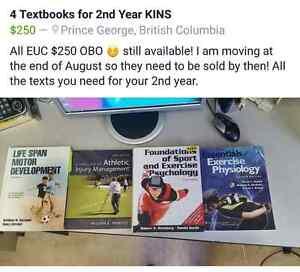 2nd Year Kinesiology Textbooks
