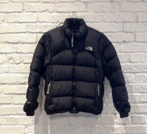 The North Face Black Down Women's Nuptse Jacket Small