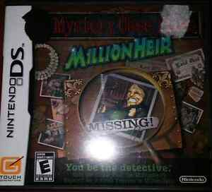 Mystery Case Files Millionheir Nintendo DS Game