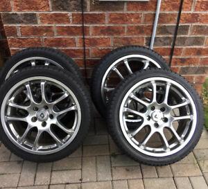 "Lexus IS 350 18"" rims -winter snow tires"