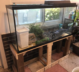 65 Gallon Fish Tank Complete Set