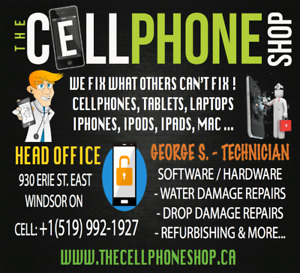 CELLULAR PHONE REPAIRS & UNLOCKING BY CERTIFIED TECHNICIANS