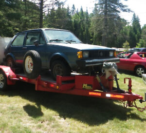 Classic Project 1981 Volkswagen Rabbit 2 Dr Coupe