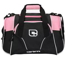 Pink & Black Holdall for Gym/ Travel