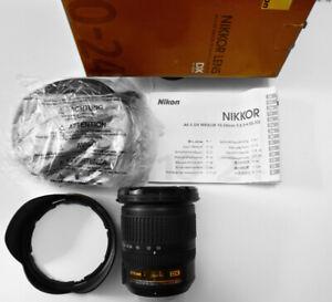 Nikon NIKKOR 10-24mm f/3.5-4.5 AS DX G SWM AF-S IF ED M/A Lens