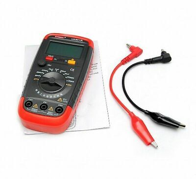 Digital Capacitor Capacitance Tester Meter LCD Backlight Date Hold UA6013L BE