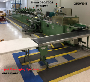 Used Sitma C80/750/I Wrapping System,wrapper,wrapping machine/