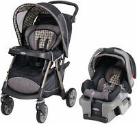 Graco UrbanLite Travel System & other baby items