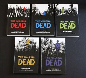BD Walking Dead, V et Watchmen