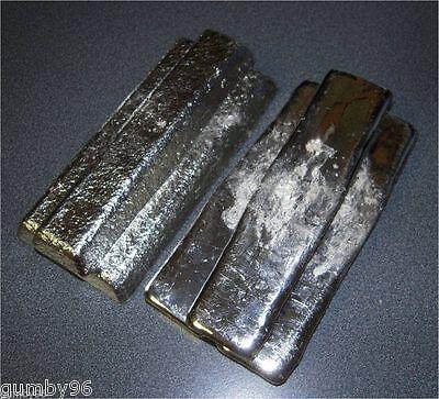 1 Pound Tin Metal Ingot 99.97 Pure Bullion - 453.6 Grams Lb Bar