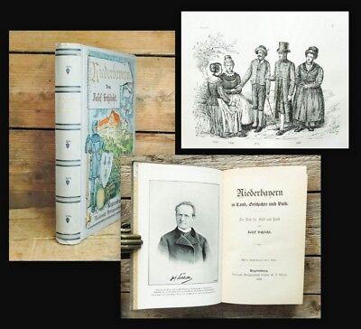 1898 Schlicht Niederbayern in Land Geschichte und Volk