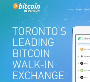 SELL BUY BITCOIN CRYPTO WALK-IN EXCHANGE #1 IN TORONTO SECURE