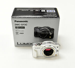 Panasonic Lumix GF3 body only, white