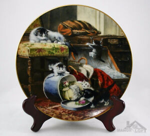 Mischief in the Hat-The Victorian Cat,,H Ronner,Bradex/WS George