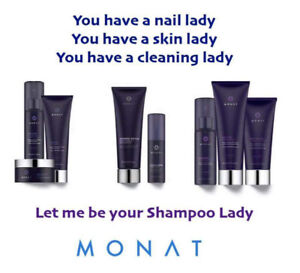 Natural hair growth and repair products... try MONAT!!!